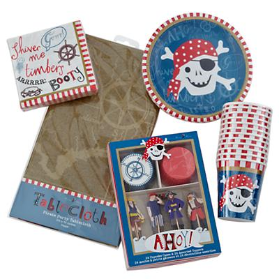 Ahoy Pirate Basic Party Kit