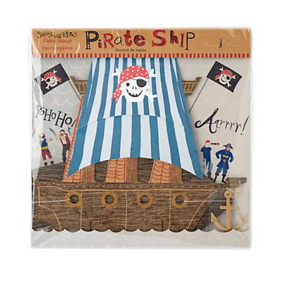 Ahoy Pirate Ship Centerpiece