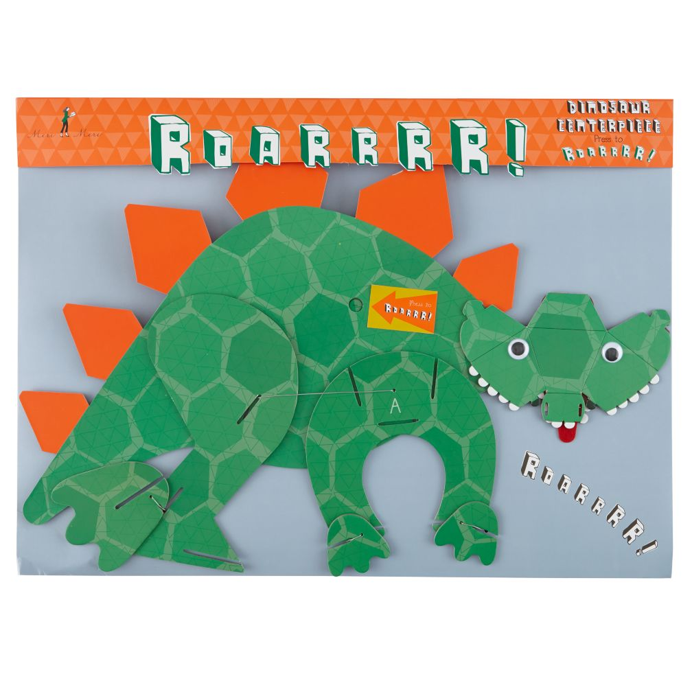 Roarrrr! Dinosaur Party Centerpiece
