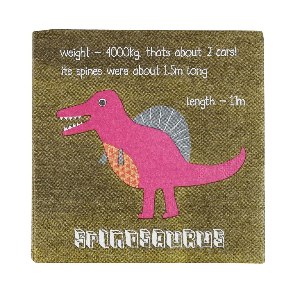 Roarrrr! Dinosaur Party Napkins