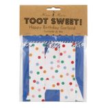 Toot Sweet Birthday Garland