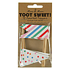 Set of 12  Food ToppersToot Sweet Party Collection