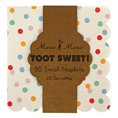 Toot Sweet Party  Napkins