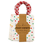 Toot Sweet Polka Dot Party Bags Set of 8