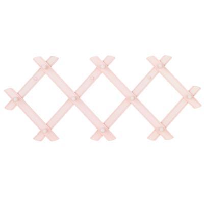 Accordian Peg Rack (Pink)
