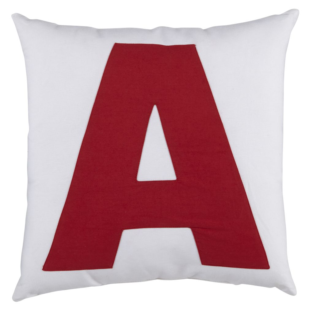 ABC &quot;A&quot; Pillow