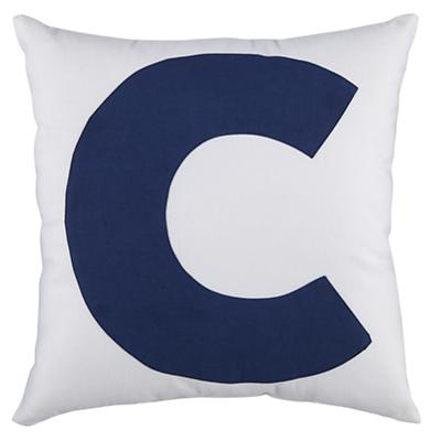 "ABC ""C"" Pillow"