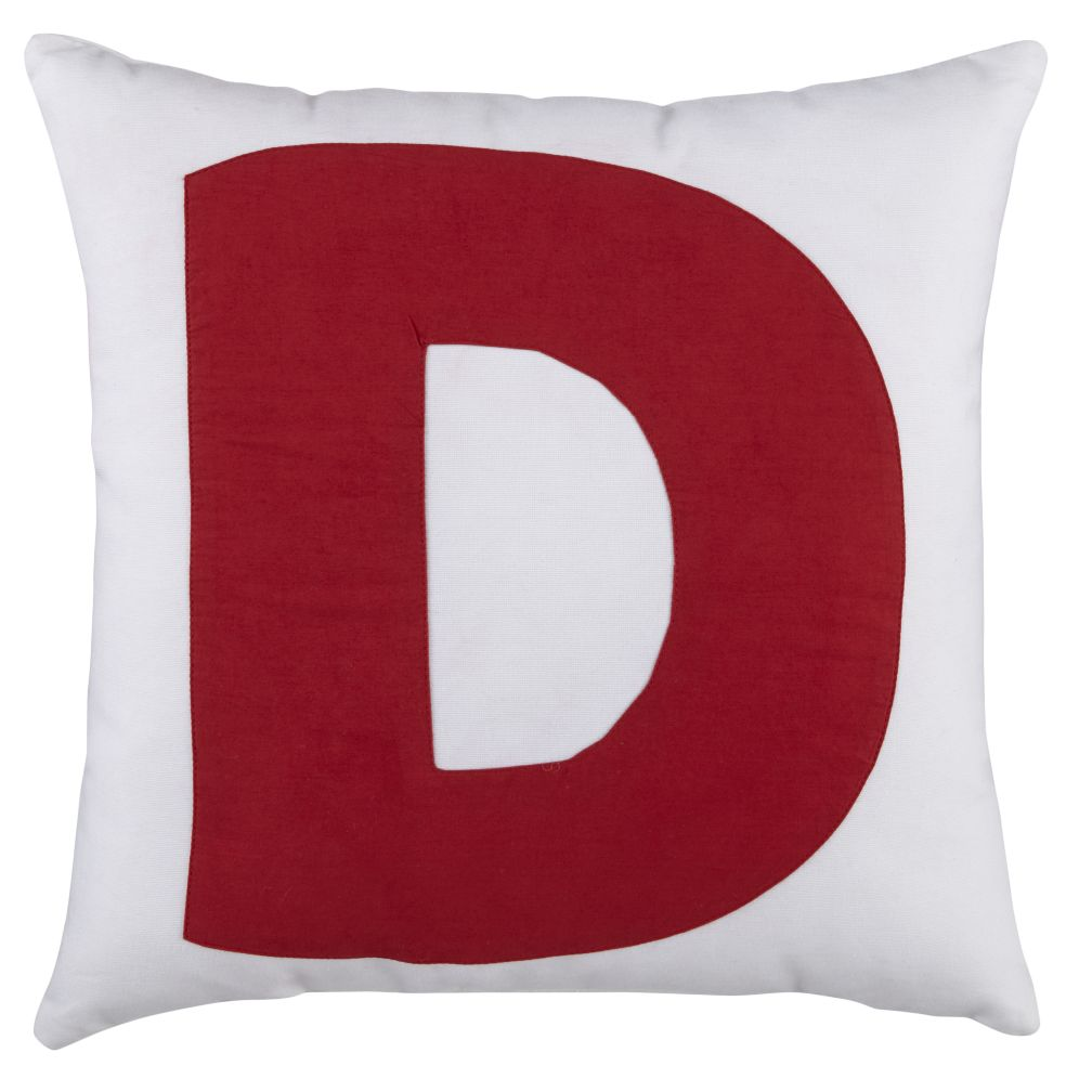 ABC &quot;D&quot; Pillow