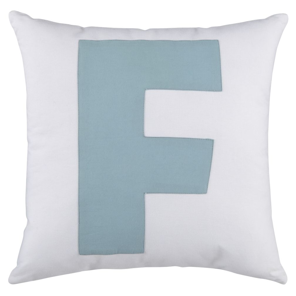 ABC &quot;F&quot; Pillow