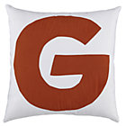 ABC &amp;quot;G&amp;quot; Pillow