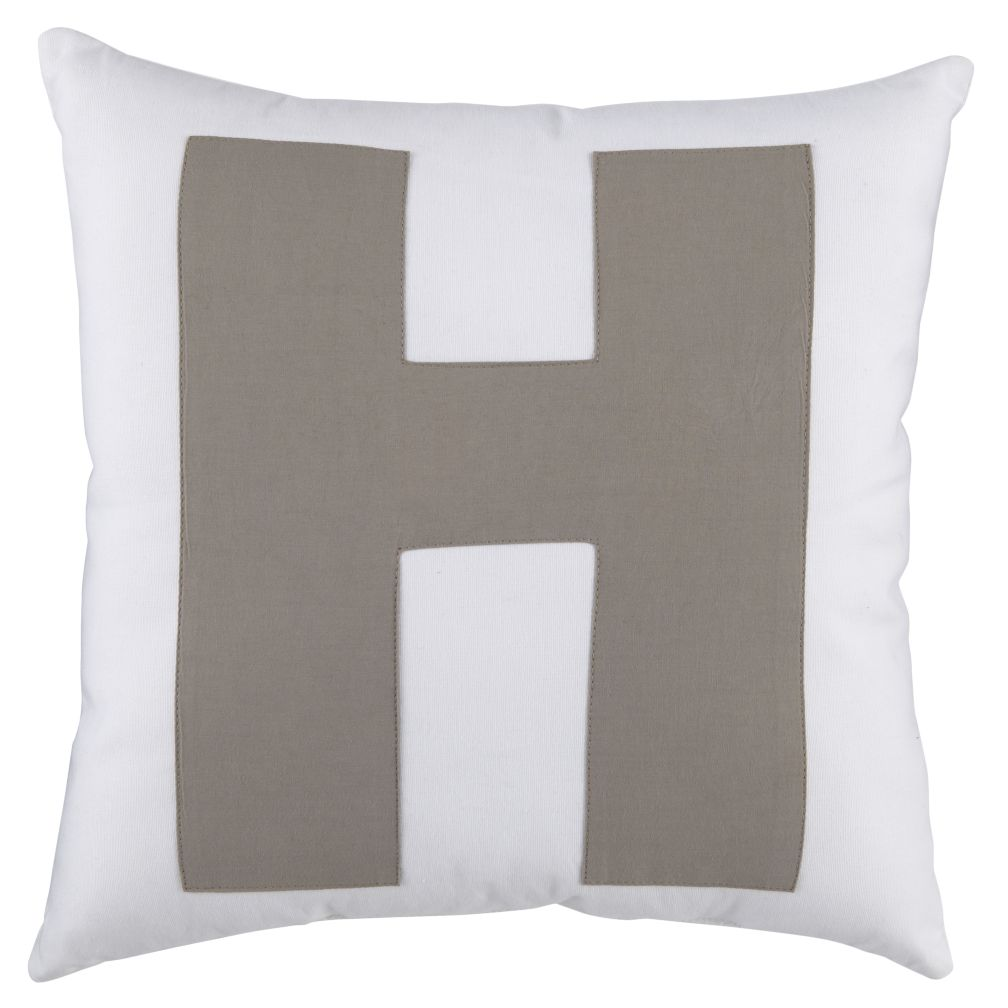 "ABC ""H"" Pillow"