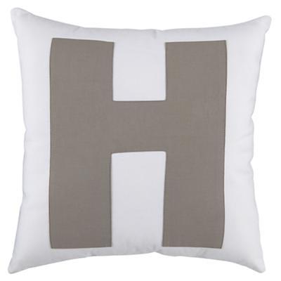 "ABC ""H"" Pillow"