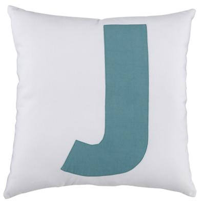 ABC Throw Pillows (Letter J)