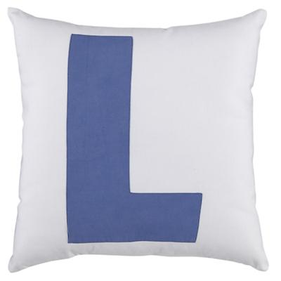 ABC Throw Pillows (Letter L)