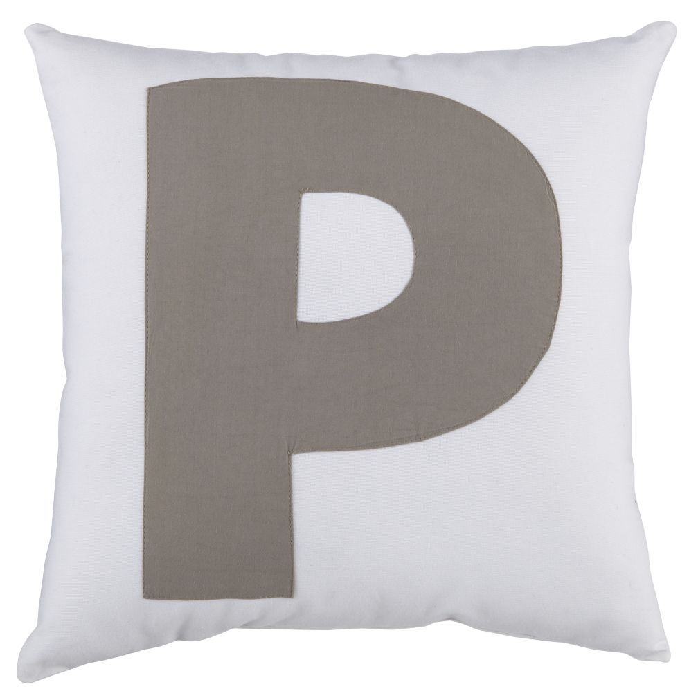 ABC &quot;P&quot; Pillow