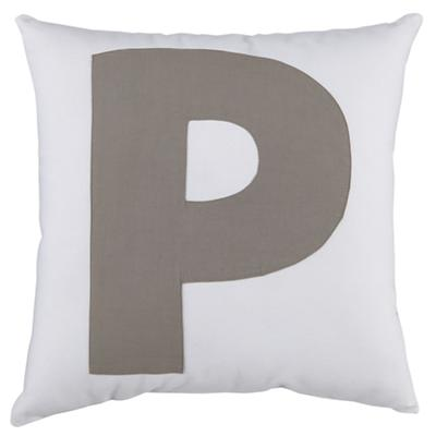 ABC Throw Pillows (Letter P)