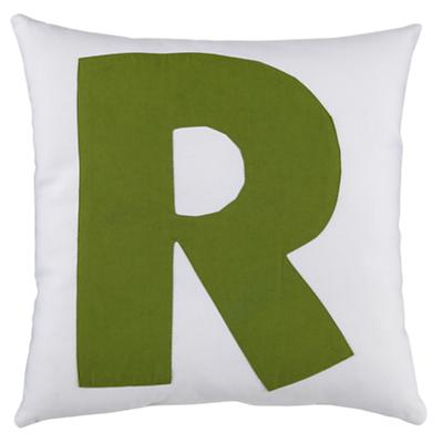 ABC Throw Pillows (Letter R)