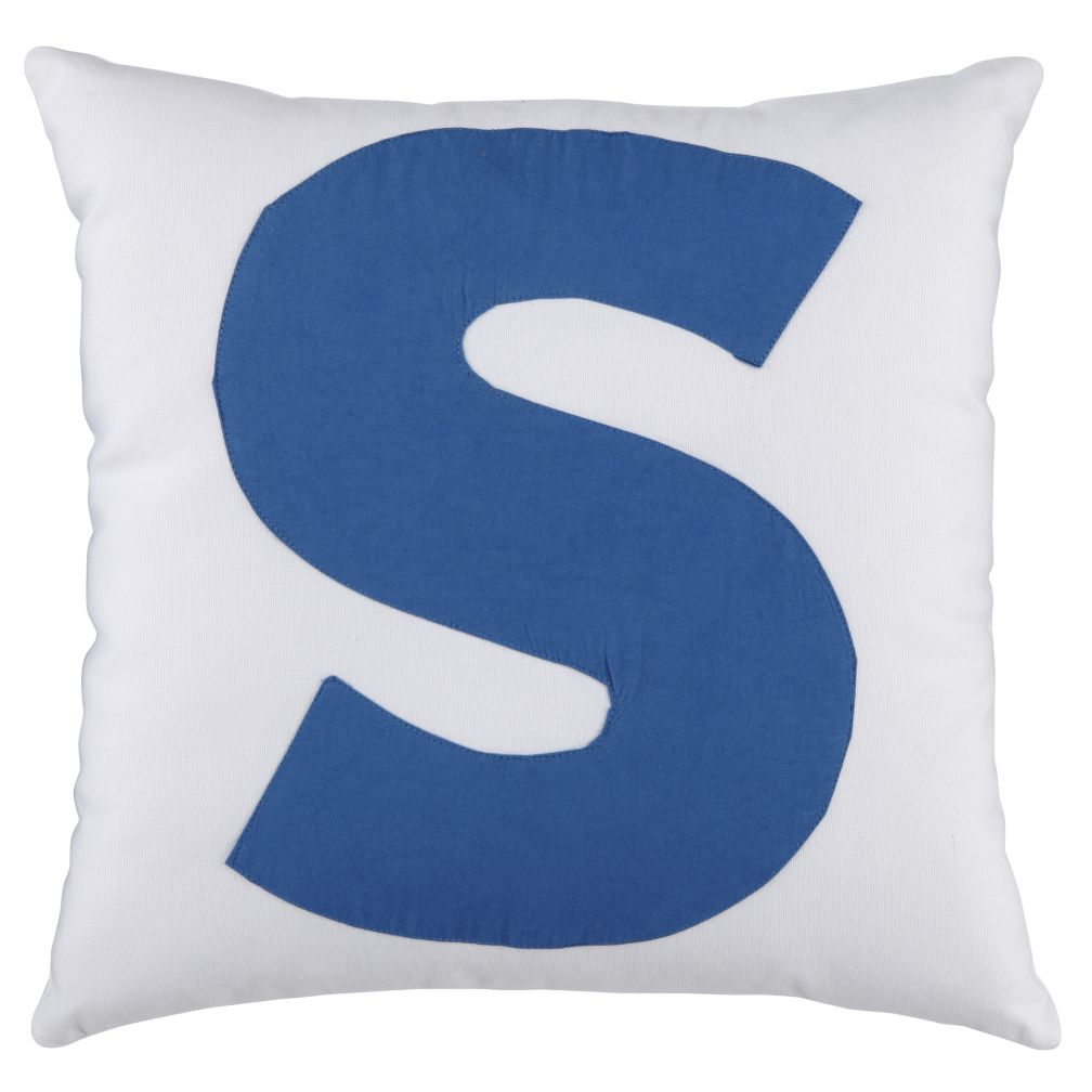 ABC &quot;S&quot; Pillow