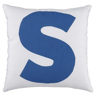 ABC Throw Pillows (Letter S)