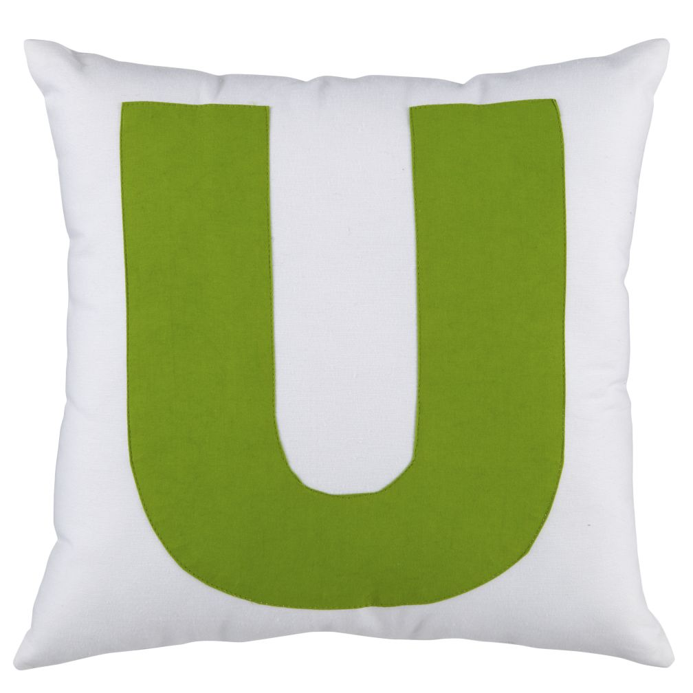 "ABC ""U"" Pillow"