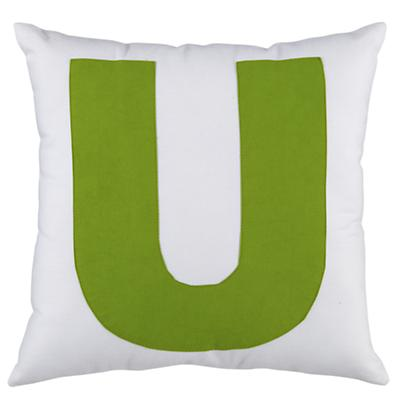 ABC Throw Pillows (Letter U)