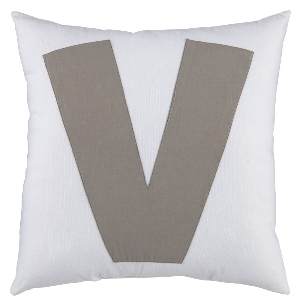 "ABC ""V"" Pillow"