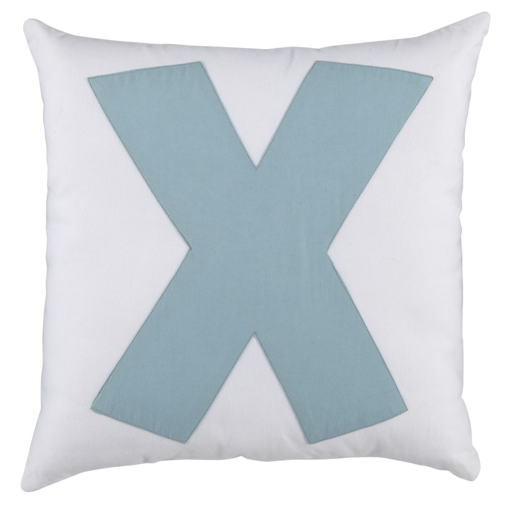 ABC &quot;X&quot; Pillow