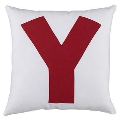 ABC Throw Pillows (Letter Y)