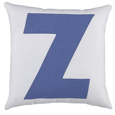 ABC Throw Pillows (Letter Z)