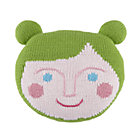 Green Pillow Pal Throw Pillow