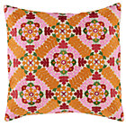Cover Only Blossoming Multi Floral Pillow