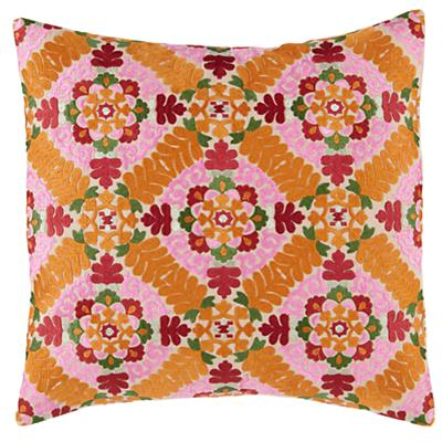 A Blossoming Throw Pillow Cover