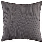 Faux Bois Throw Pillow (Includes Cover and Insert)