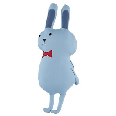 Bright Eyed Bunny Throw Pillow