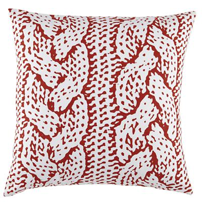 Camp Throw Pillow (Rope)