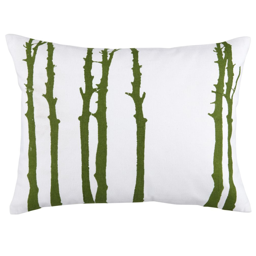 Camp Throw Pillow (Tree)
