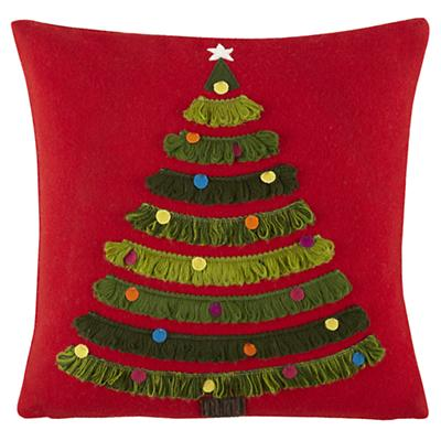 Trim the Tree Pillow Cover