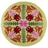 Flower Power Throw Pillow Cover