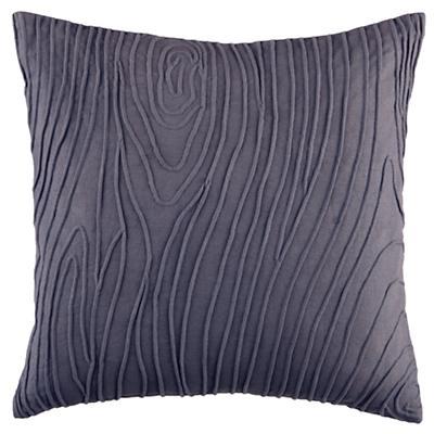 Faux Bois Throw Pillow