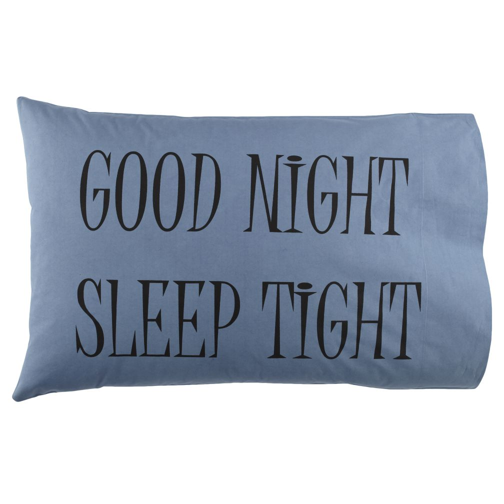 Good Night Pillowcases (Blue)