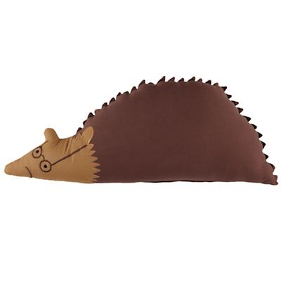 Hedgehog Bright Eyed, Bushy Tailed Throw Pillow