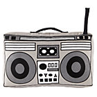 Boombox Throw Pillow