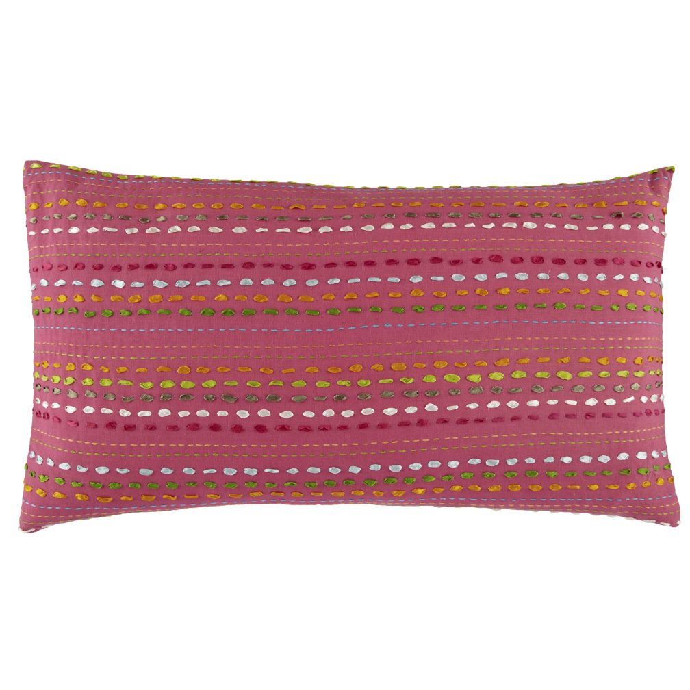 Ribbon Throw Pillow Cover