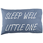 Blue Sleep Well Pillowcase