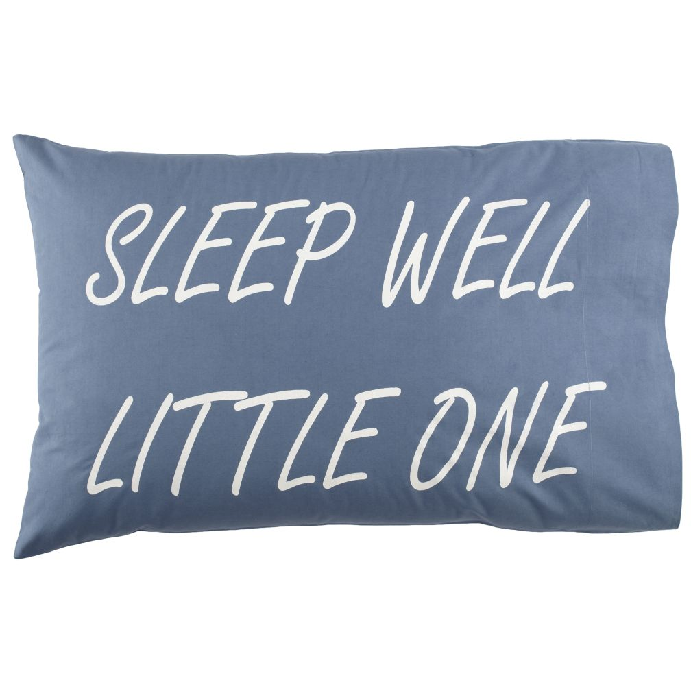 Sleep Well Pillowcases (Blue)
