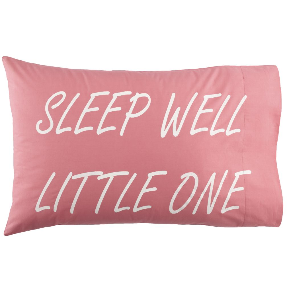 Sleep Well Pillowcases (Pink)