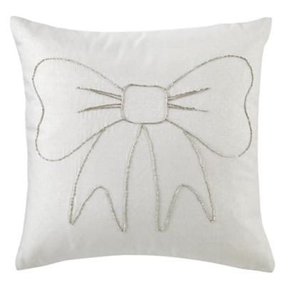 Bow Throw Pillow Cover