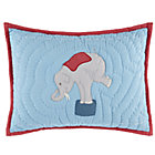 Under the Big Top Elephant Throw Pillow