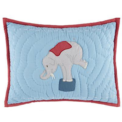 Under the Big Top Throw Pillow