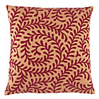 Cover Only Orange Vines Throw Pillow